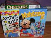 Ants in the Pants, Mickey Mouse Club House Yahtzee Jr,