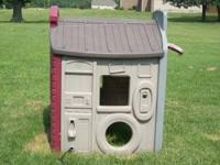 Children's playhouse. It does have some wear, but still