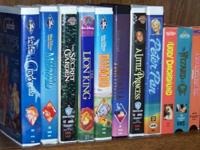 Kid's VHS Movies, Disney and others. $11 for all eleven