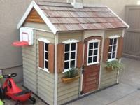 This play house is in good condition. It is ready to