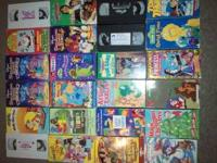I have 24 children vhs tapes and four of them have no
