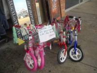 Here @ Noors we have children's bicycles for $40. We