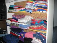 Kid's Clothes, various sizes from very small to rather