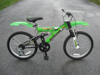 "12"" 16"" and 20"" bikes, priced depending on"