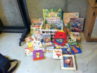 Lot of Childrens Books...everything in the picture is