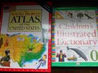 We have the DK Children's Illustrated Dictionary and