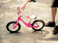 Brand new children's peddle-less bike made by Giant.