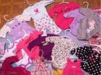 Big lot of winter time newborn and 0-3 months clothes.