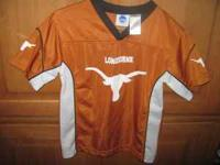 Childrens Texas Longhorns Jersey sz 8 $10.00