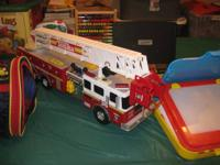 Tonka Fire Engine, Lincoln logs, lot's of educational
