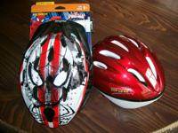 one slightly used helmet $10 sized to fit 50-to-54 cm