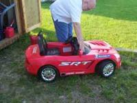 Childs ride on electric car two seat Viper model good