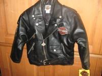 Childs Harley Davidson Jacket brand new sz 7 tags still