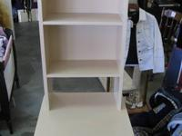 Childs Hutch/Table with 2 shelves - One of a Kind -