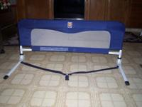 SAFETY BED RAIL FOR CHILD BED.CALL BOB AT . (15.00)