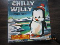 CHILLY WILLY POLAR PESTS, CAN BE USED ON 8MM OR 16MM
