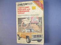 Chilton, Haynes, and Clymer brand name auto repair