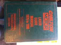 Chilton motor labor guide book 1979-1998 truck, van,