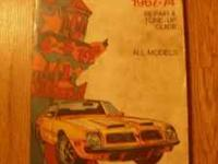 3 Books: Chilton's Firebird 1967-74, ISBN