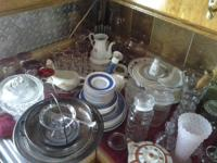 I have lots of old china sets and crystal hard to find