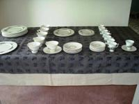 rutledge by Lenox fine china. ivory accented with 24