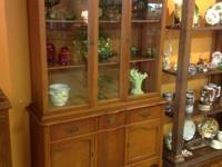 We have a lot of China and Curio Cabinets and have to
