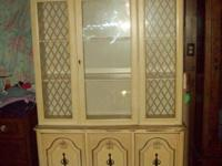 We have this china cabinet it is AT LEAST 30 YEARS OLD.