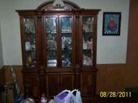 the china cabinet is still in excellent condition.