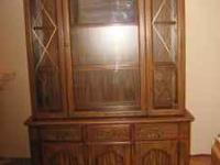 nice china cabinet for sale for 200 dollars OBO call