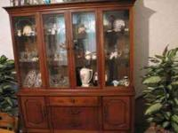 CHINA CABINET FROM THE LATE 50'S- EARLY 60'S PASSED