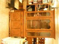 CHINA CABINET $175.00 can be seen at HAZEL GREEN THRIFT