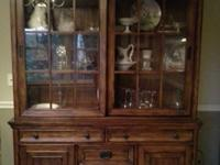 Country/Missionary Style Hutch Cabinet ... Beautiful