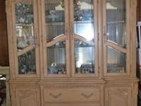 condition. The cost is for the set (China cabinet and
