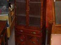 EXCELLENT CONDITION CHINA CABINET/BOOKCASE FURNITURE
