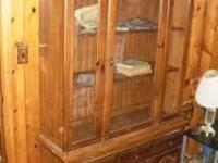 Broyhill China Cabinet As Pictured. Has Some Scratches
