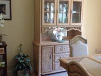 Unique china cabinet, 52x88x18 deep.  Comes in two