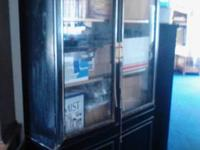 We have 2 china cabinets for sale. In very, nice