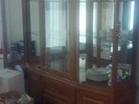 WANTED: China Cabinets & Book Shelves CHINA CABINETS: *
