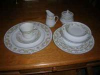 Made in Japan, service for 12 china dishes. Includes