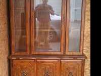 For sale is a china hutch that I don't have room for