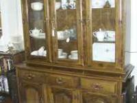 3 very nice china hutches to choose from. $175 each.