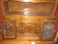 Type: Dining Room Type: China hutch China hutch gently