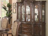 The flexible china cabinet develops a conventional