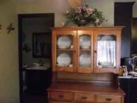 This is a Nice China Hutch That will fit anywhere for