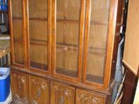 I have for sale an older china hutch or cabinet by an