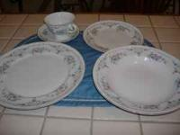 Ten - five piece place settings plus 4 extra plates, 2