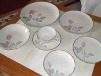service for 8 in a beautiful pattern 7 place setting