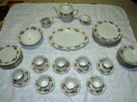 I believe this is a Beautiful Mikasa Fine China Set in