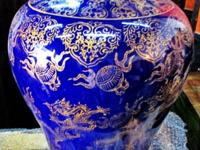 This beautiful hand made dragon porcelain came from