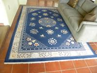 Chinese Hand knotted Silk Wool Oriental Rug I purchased